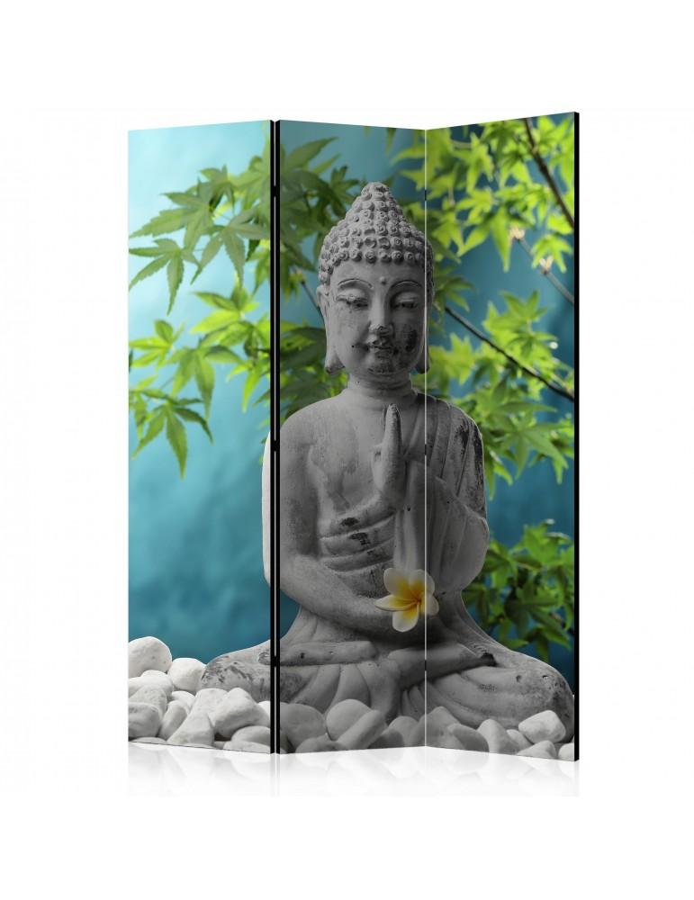 Paravent 3 volets - Meditating Buddha [Room Dividers] A1-PARAVENT981
