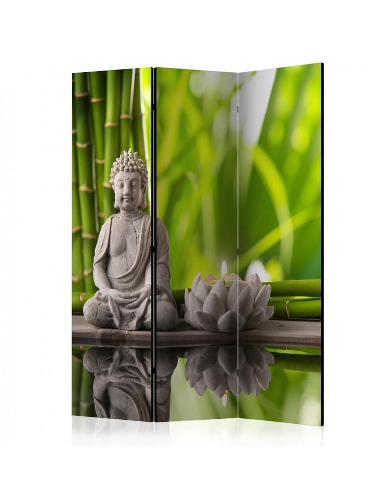 Paravent 3 volets - Meditation [Room Dividers] A1-PARAVENT985
