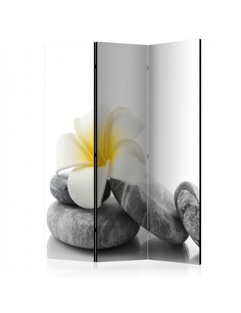 Paravent 3 volets - White Lotus [Room Dividers] A1-PARAVENT991