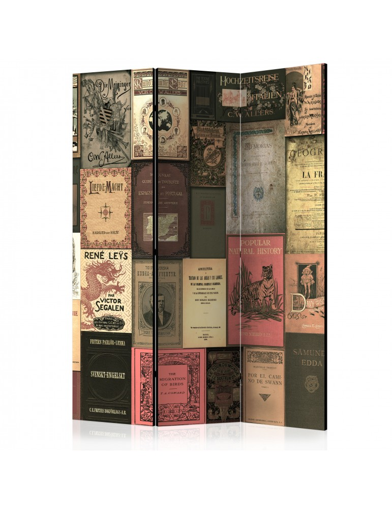 Paravent 3 volets - Books of Paradise [Room Dividers] A1-PARAVENT1033