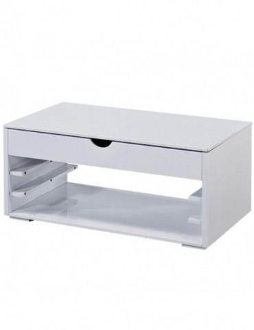Table basse Newup Blanc AT8034-Blanc
