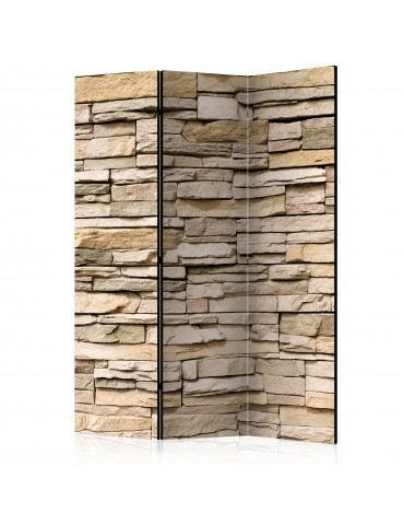 Paravent 3 volets - Decorative Stone [Room Dividers] A1-PARAVENT37