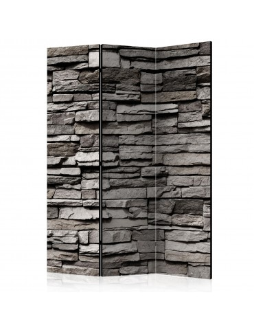 Paravent 3 volets - Stony Facade [Room Dividers] A1-PARAVENT25
