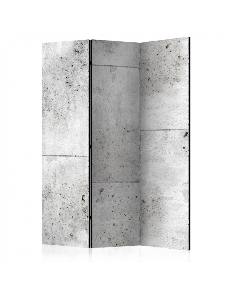 Paravent 3 volets - Concretum murum [Room Dividers] A1-PARAVENT162