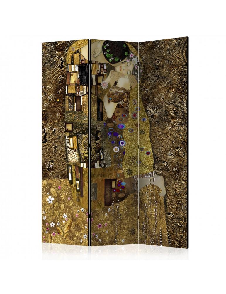 Paravent 3 volets - Golden Kiss [Room Dividers] A1-PARAVENT469