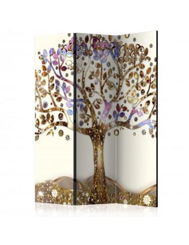 Paravent 3 volets - Golden Tree [Room Dividers] A1-PARAVENT471