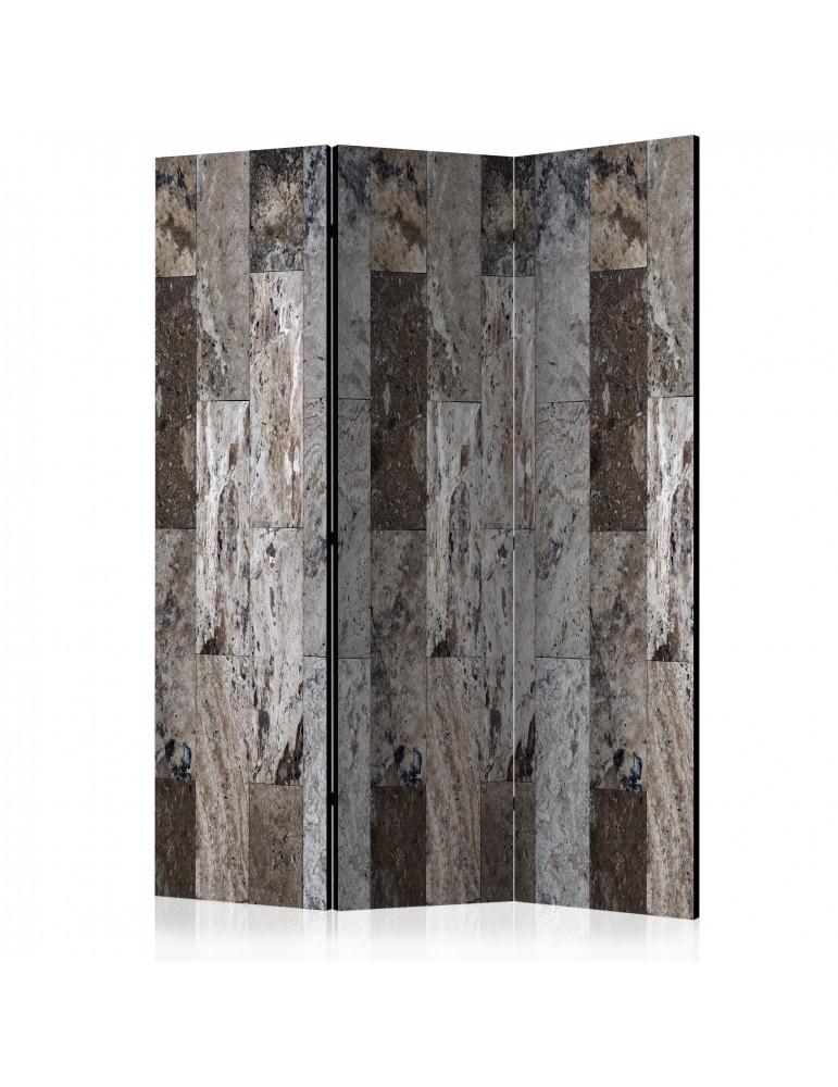 Paravent 3 volets - Marble Mosaic [Room Dividers] A1-PARAVENT915
