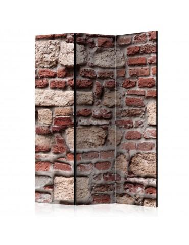 Paravent 3 volets - Vintage Wall [Room Dividers] A1-PARAVENT883