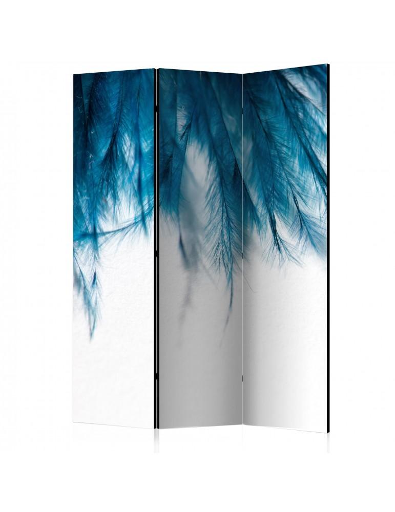 Paravent 3 volets - Sapphire Feathers [Room Dividers] A1-PARAVENT999
