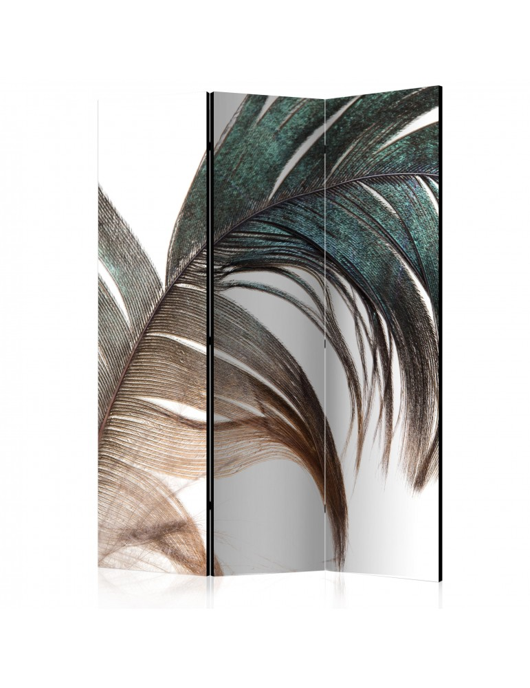 Paravent 3 volets - Beautiful Feather [Room Dividers] A1-PARAVENT1011