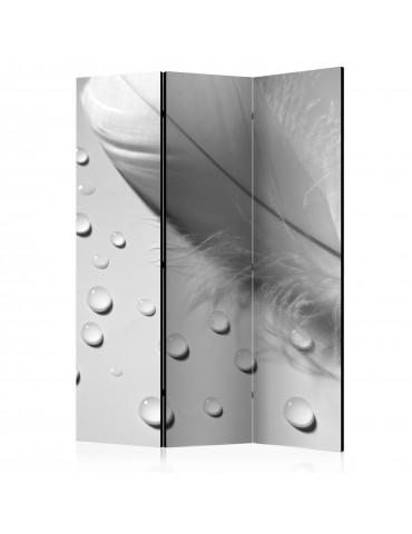 Paravent 3 volets - White Feather [Room Dividers] A1-PARAVENT1003