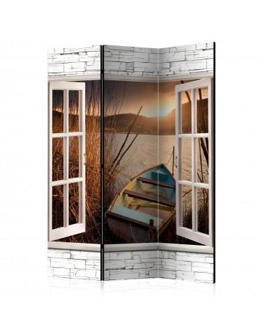Paravent 3 volets - Autumnal Lake [Room Dividers] A1-PARAVENT965