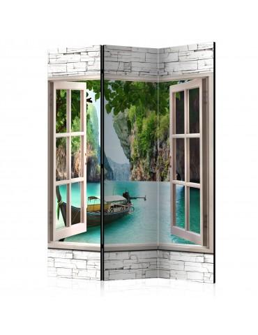 Paravent 3 volets - Thai Paradise [Room Dividers] A1-PARAVENT961