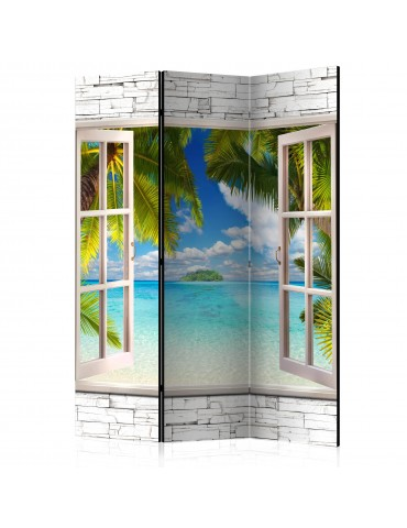 Paravent 3 volets - Dream Island [Room Dividers] A1-PARAVENT973