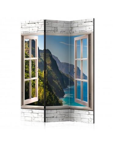 Paravent 3 volets - Seaside Hills [Room Dividers] A1-PARAVENT963