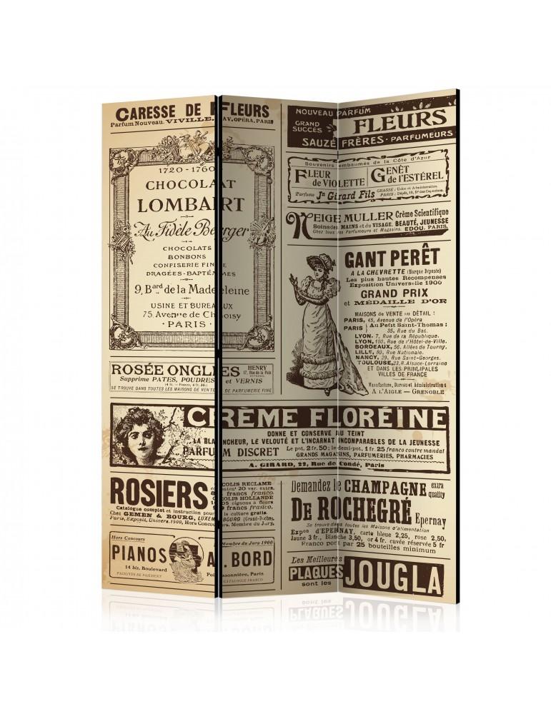 Paravent 3 volets - Vintage Magazines [Room Dividers] A1-PARAVENT513