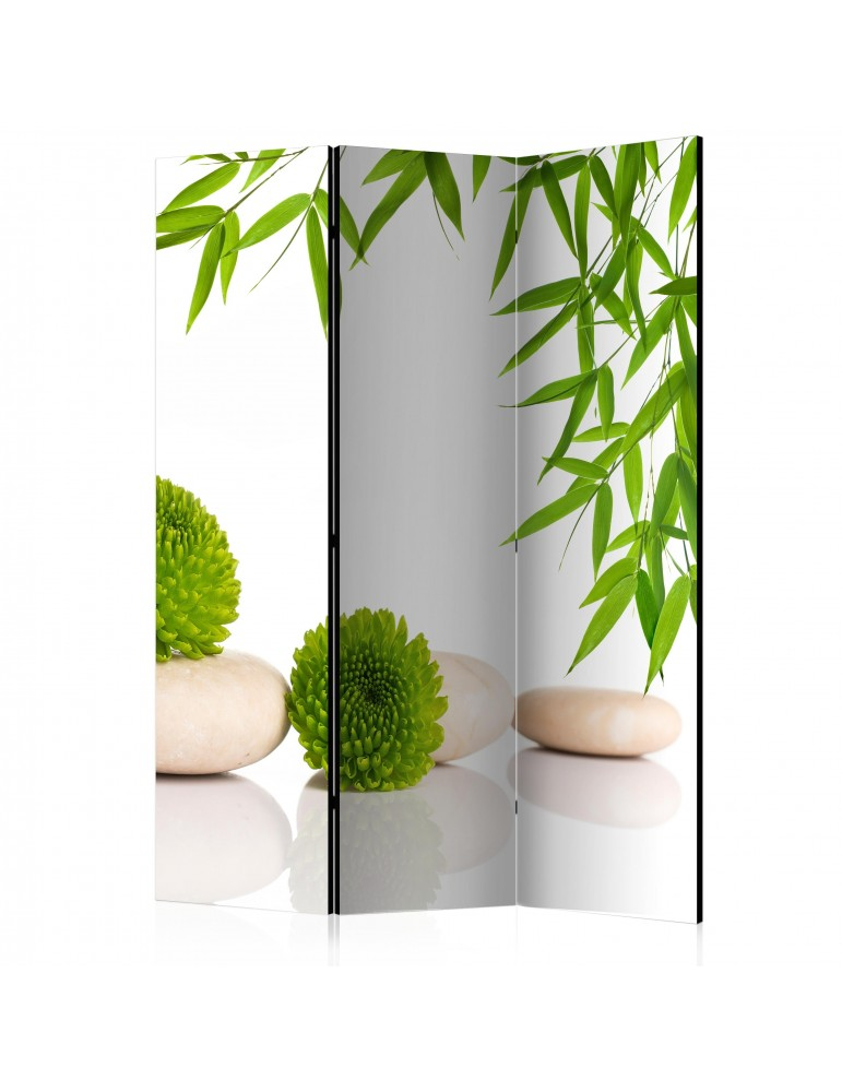Paravent 3 volets - Green Relax [Room Dividers] A1-PARAVENT945