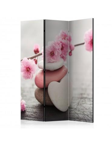 Paravent 3 volets - Zen Flowers [Room Dividers] A1-PARAVENT951