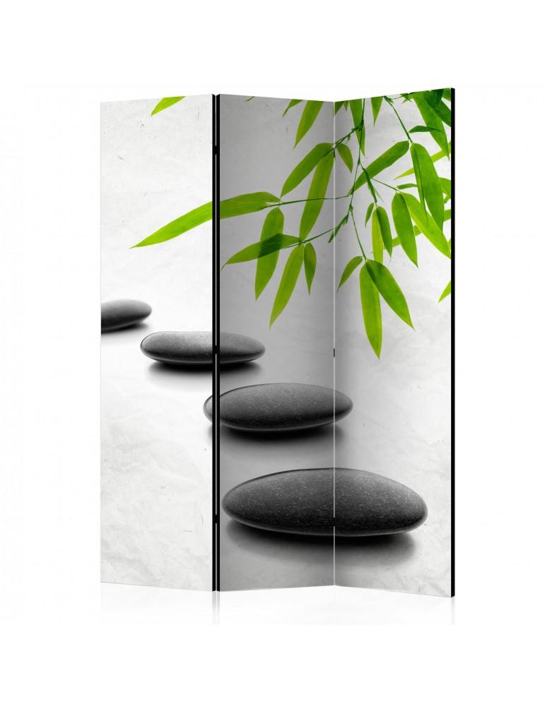 Paravent 3 volets - Zen Stones [Room Dividers] A1-PARAVENT957