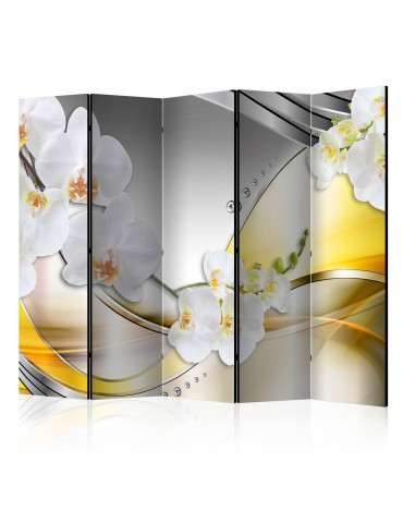 Paravent 5 volets - Yellow Journey II [Room Dividers] A1-PARAVENT225