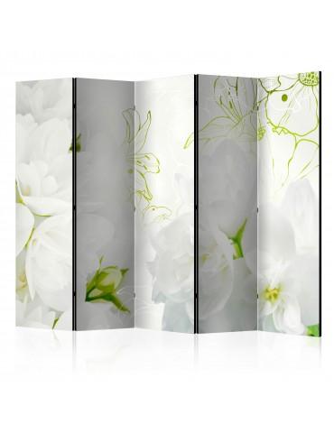 Paravent 5 volets - Jasmine II [Room Dividers] A1-PARAVENT223