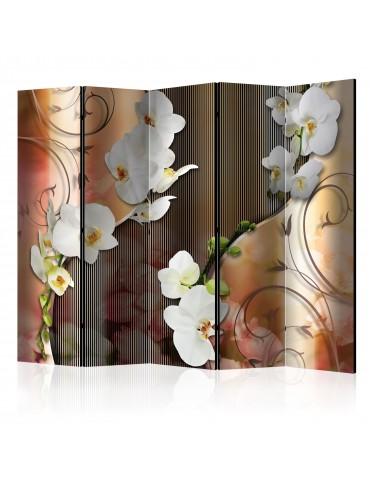 Paravent 5 volets - Orchid II [Room Dividers] A1-PARAVENT584