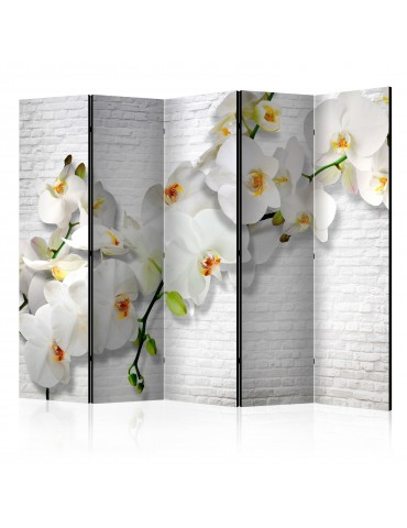 Paravent 5 volets - The Urban Orchid II [Room Dividers] A1-PARAVENT580