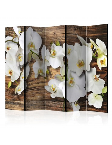 Paravent 5 volets - Forest Orchid II [Room Dividers] A1-PARAVENT598