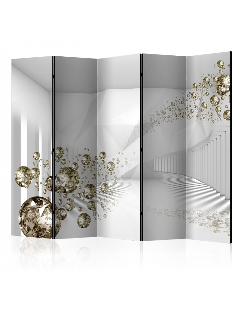 Paravent 5 volets - Diamond Corridor II [Room Dividers] A1-PARAVENT62