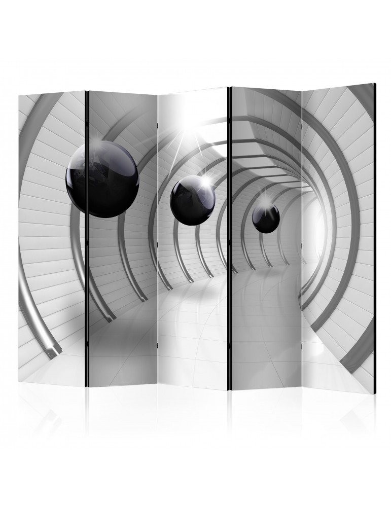 Paravent 5 volets - Futuristic Tunnel II [Room Dividers] A1-PARAVENT84