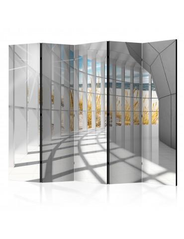 Paravent 5 volets - Seaside Bastion II [Room Dividers] A1-PARAVENT46