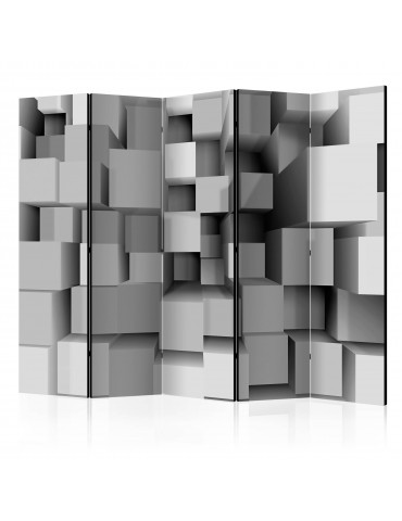 Paravent 5 volets - Geometric Puzzle II [Room Dividers] A1-PARAVENT66