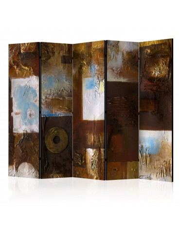 Paravent 5 volets - Winter Landscape II [Room Dividers] A1-PARAVENT117
