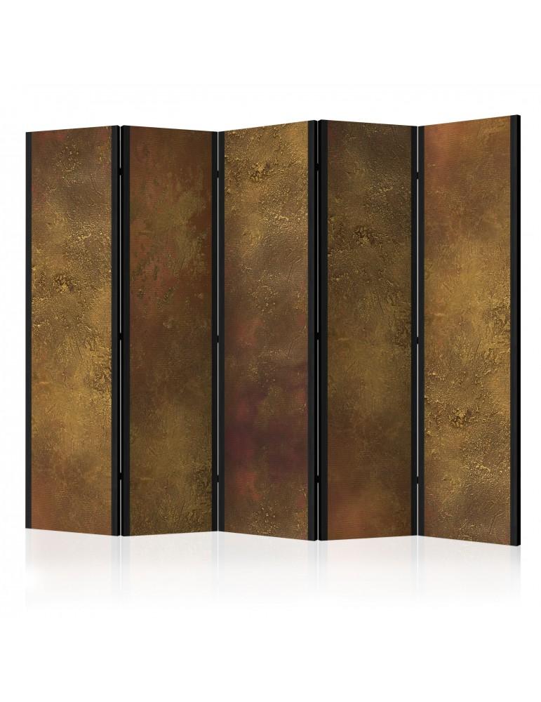 Paravent 5 volets - Golden Temptation II [Room Dividers] A1-PARAVENT121