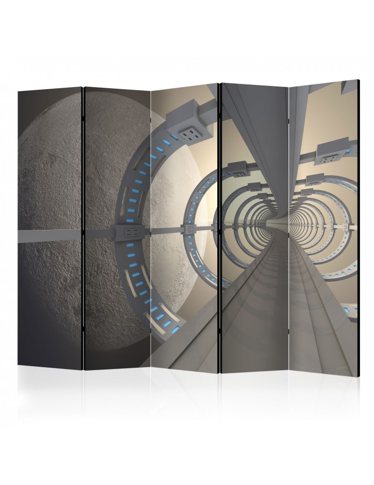 Paravent 5 volets - Cosmic Tunnel II [Room Dividers] A1-PARAVENT773