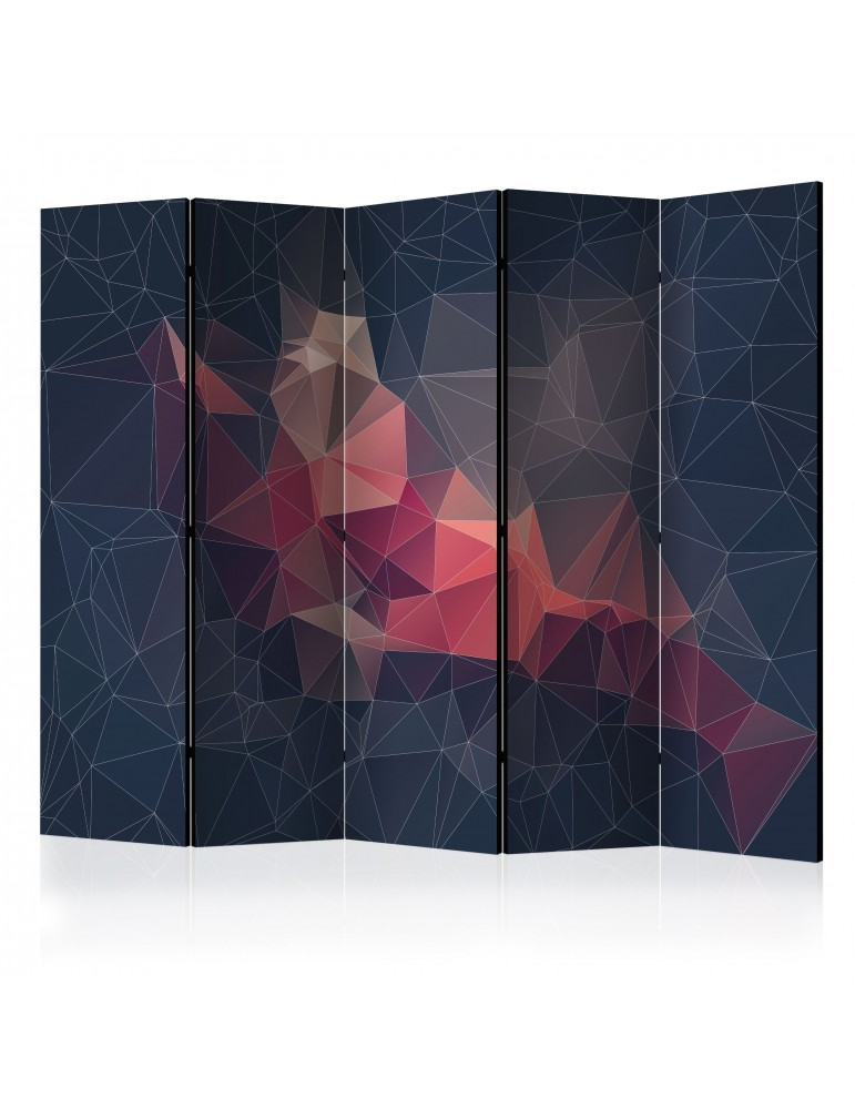 Paravent 5 volets - Abstract Bird II [Room Dividers] A1-PARAVENT777