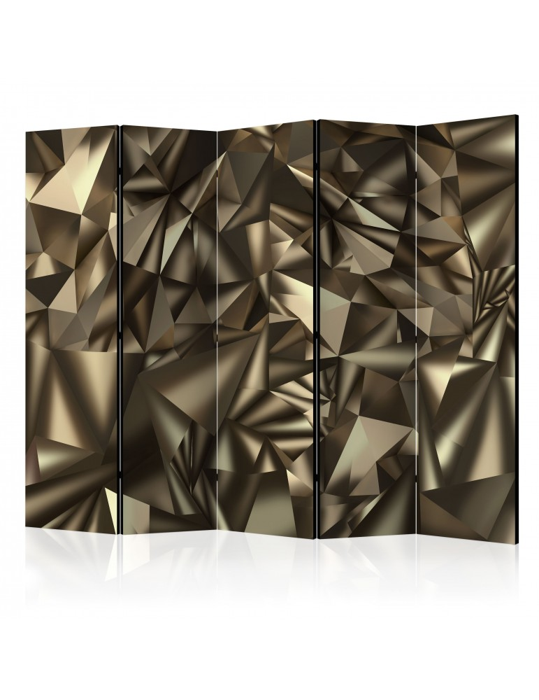 Paravent 5 volets - Abstract Symmetry II [Room Dividers] A1-PARAVENT729