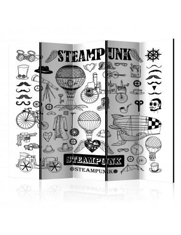 Paravent 5 volets - Steampunk II [Room Dividers] A1-PARAVENT727
