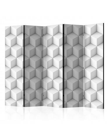 Paravent 5 volets - Room divider – Cube II A1-PARAVENT922