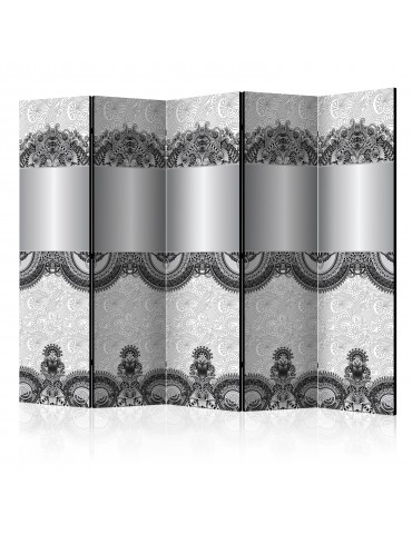 Paravent 5 volets - Room divider - Abstract pattern II A1-PARAVENT936