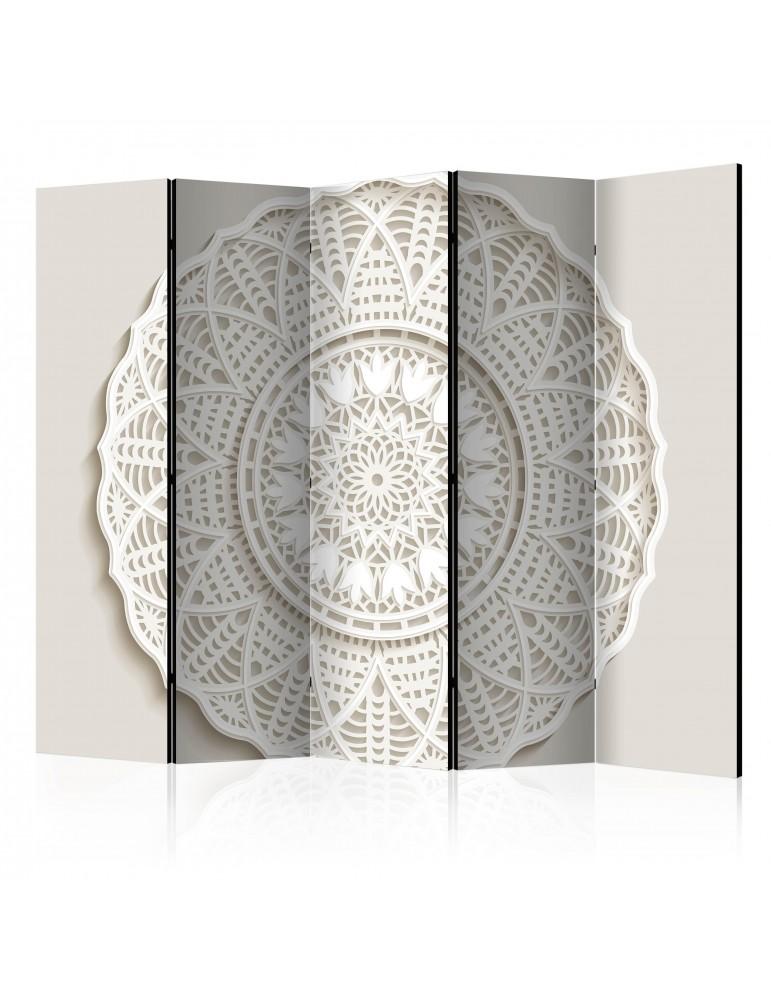 Paravent 5 volets - Mandala 3D II [Room Dividers] A1-PARAVENT938