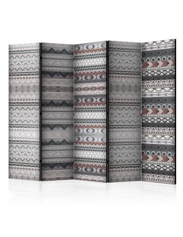 Paravent 5 volets - Ethnic Design II [Room Dividers] A1-PARAVENT759