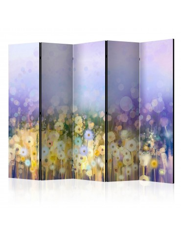 Paravent 5 volets - Painted Meadow II [Room Dividers] A1-PARAVENT849