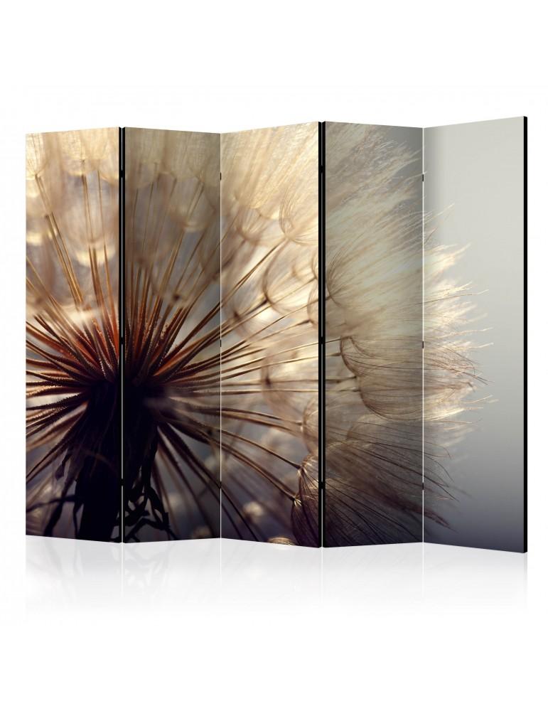Paravent 5 volets - Dandelion Kiss II [Room Dividers] A1-PARAVENT853