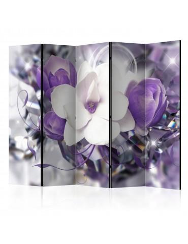 Paravent 5 volets - Purple Empress II [Room Dividers] A1-PARAVENT181