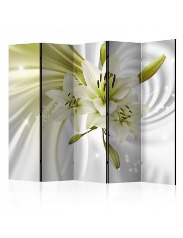 Paravent 5 volets - Green Captivation II [Room Dividers] A1-PARAVENT185
