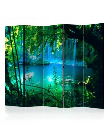 Paravent 5 volets - Kursunlu Waterfalls II [Room Dividers] A1-PARAVENT195