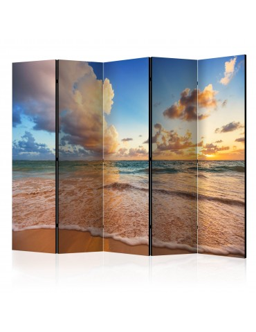 Paravent 5 volets - Morning by the Sea II [Room Dividers] A1-PARAVENT197