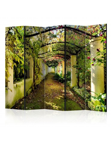 Paravent 5 volets - Romantic Garden II [Room Dividers] A1-PARAVENT207