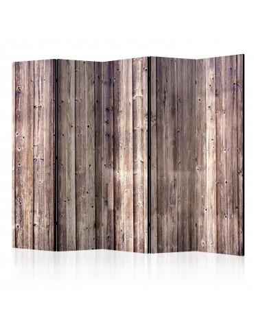 Paravent 5 volets - Wooden Charm II [Room Dividers] A1-PARAVENT656